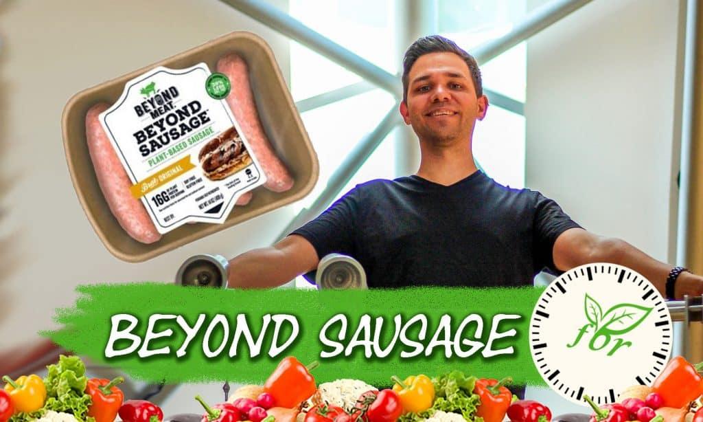 vegane Wurst von Beyond Meat